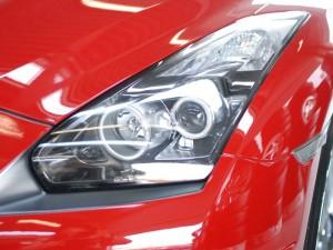イカリング埋め込み GT-R ヘッドライト